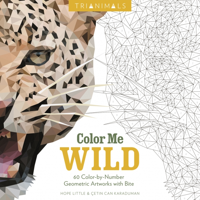 Trianimals Color Me Wild Hope Little Paperback