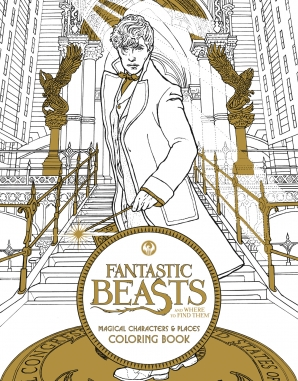 Fantastic Beasts And Where To Find Them Enlarge Book Cover