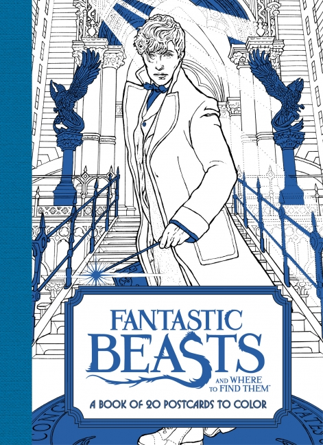 Fantastic Beasts And Where To Find Them A Book Of 20 Postcards