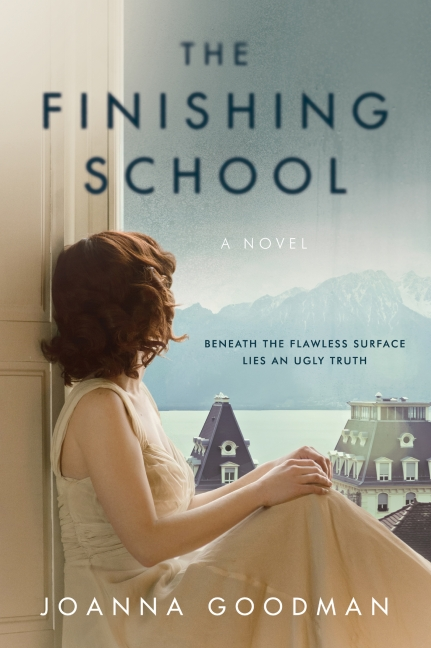 School Book Cover Sample : The finishing school joanna goodman paperback