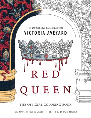 "Vaizdo rezultatas pagal užklausą ""the red queen official coloring book"""