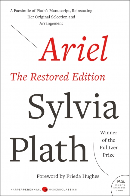 Ariel the restored edition sylvia plath paperback read a sample enlarge book cover fandeluxe Images